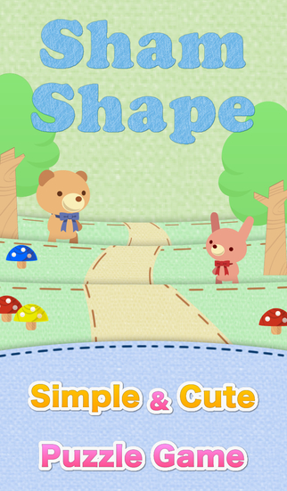 ShamShape -Simple Cute Puzzle Game-