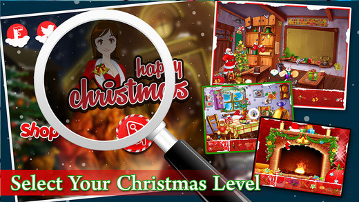 Spot Happy Christmas Gift - Hidden Object Game