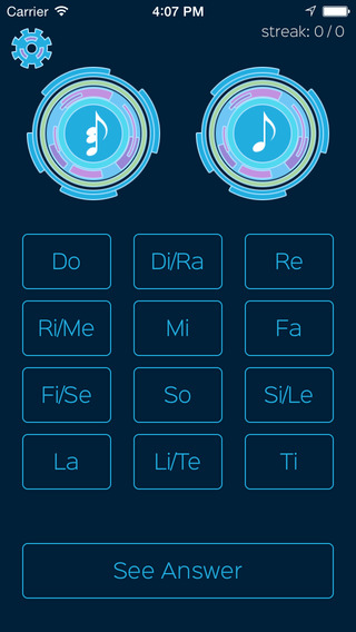 Relative - Absolute Solfege Ear Trainer