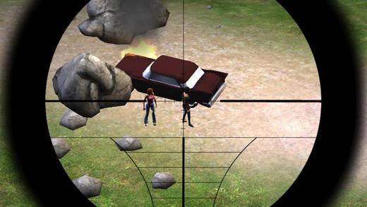 Sniper Girl Rescue - Zombie Apocalypse Mission