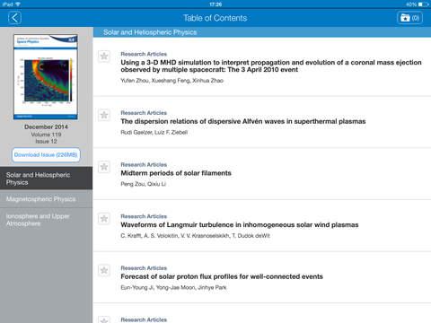 玩免費教育APP|下載Journal of Geophysical Research: Space Physics app不用錢|硬是要APP