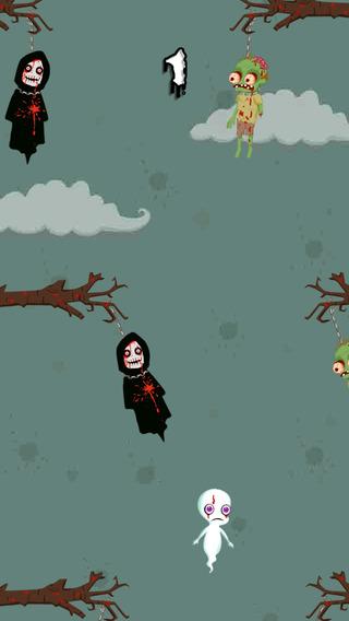 Casper Zombie Swing - an amazing spooky halloween game
