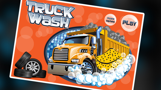 Truck Wash – Crazy vehicle cleanup care salon game for kids