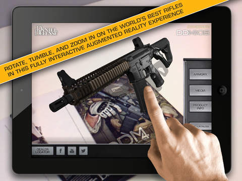 Daniel Defense Augmented Reality