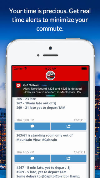 Go Caltrain - Real Time Smart Commuting