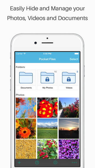 Pocket Files Pro - Secure Safe Documents Vault wit