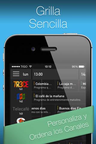 YO.TV Colombia Guía de TV screenshot 2