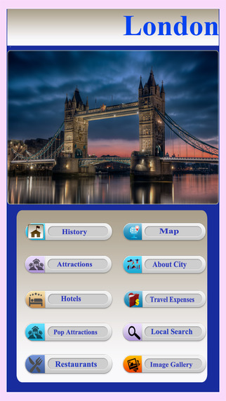 London Offline City Travel Guide
