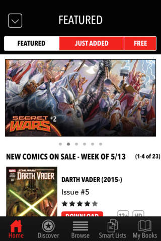 Marvel Comics screenshot 3
