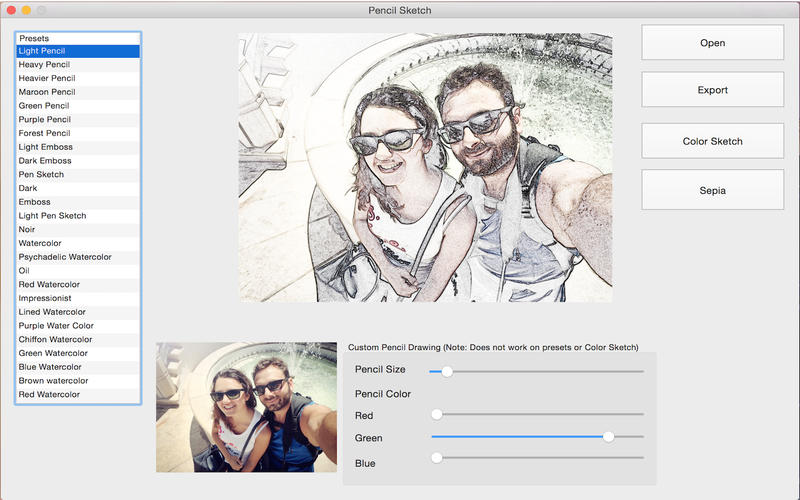 PencilSketchApp Screenshot - 1