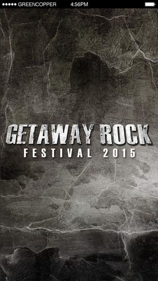 Getaway Rock Festival 2015 - Den Officiella Appen
