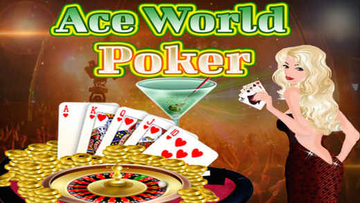Ace World Championship YOLO 5 Card Poker Lucky Winner Bonus Edition
