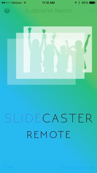 Slidecaster Remote