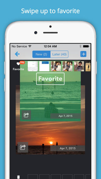 Cleen - Clean Up Camera Roll Create photo book from Favorites