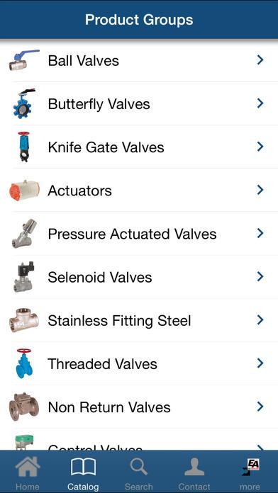 END-Armaturen Katalog iPhone Screenshot 2