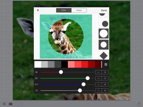 無料摄影AppのTextMask|記事Game