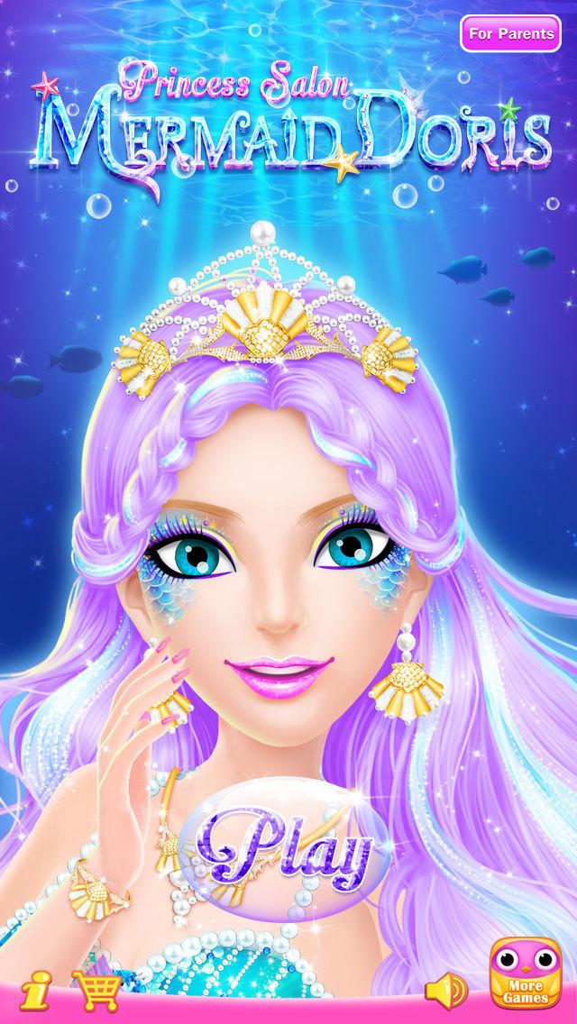 play mermaid games online