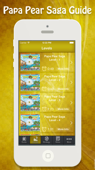 Guide for Papa Pear Saga - Videos All New Levels Walkthrough Tips and Hints
