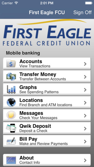 First Eagle FCU Mobile Banking