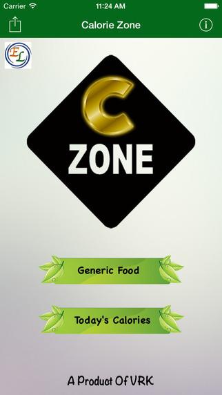 Calorie Zone