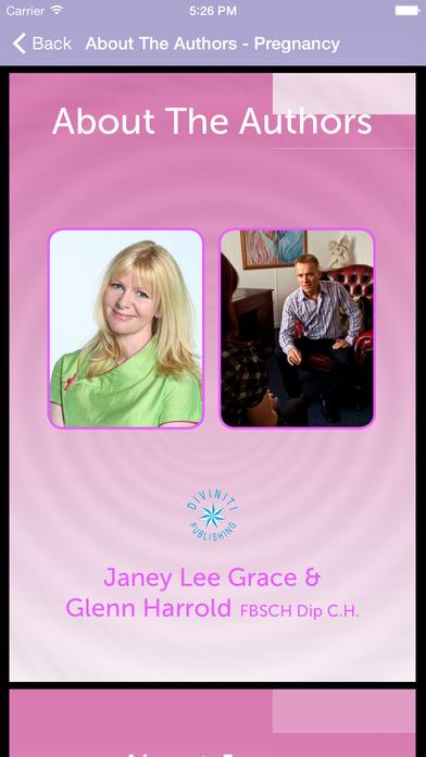 Blissful Birth by Glenn Harrold & Janey Lee Grace: Advice & Self-Hypnosis Relaxation iPhone Screenshot 5
