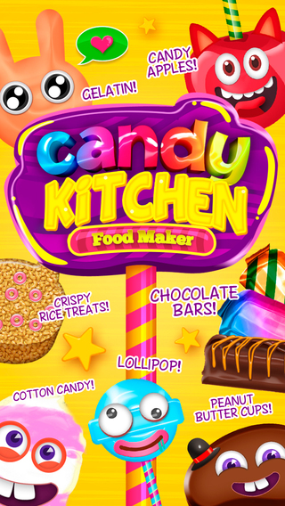 Candy Kitchen Baking Fever - My Crazy Sugar Town Treats Maker Games Pro