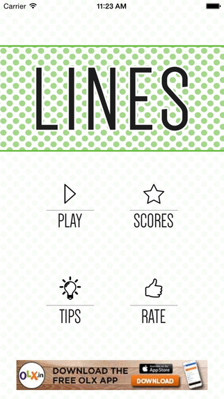 Lines: A Game of Inches