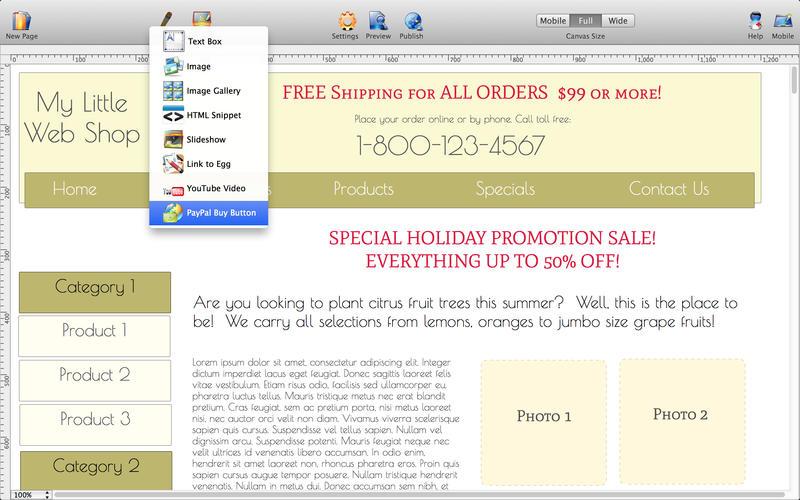 HTML Egg Classic Edition Screenshot - 4