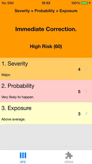 Risk: SPE ORMA and GAR Calculator