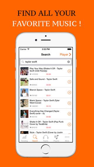 玩免費工具APP|下載Favorite Music Streamer - Mp3 Player - Playlist Manager for SoundCloud ( lite ) app不用錢|硬是要APP