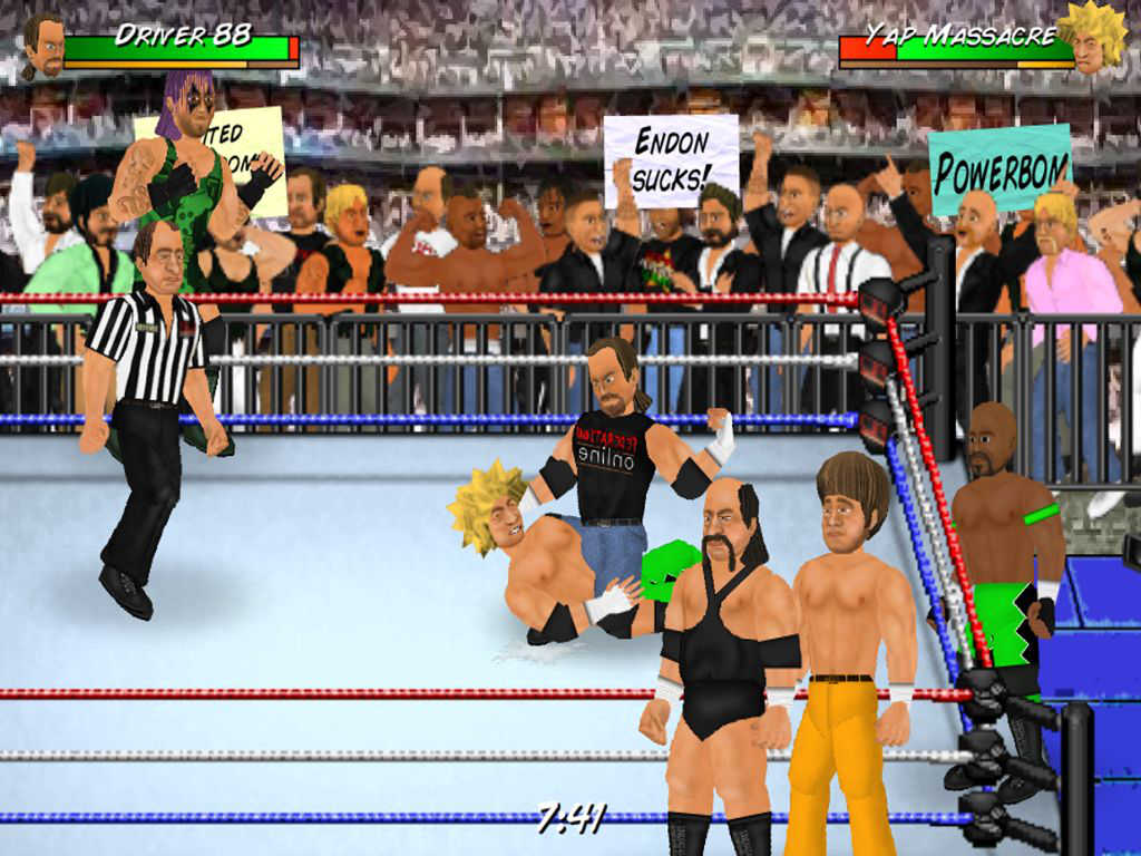 Wrestling Revolution D Exhibition : Wrestling revolution pro by mdickie page touch arcade