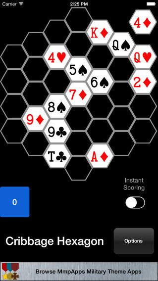 Cribbage Hexagon