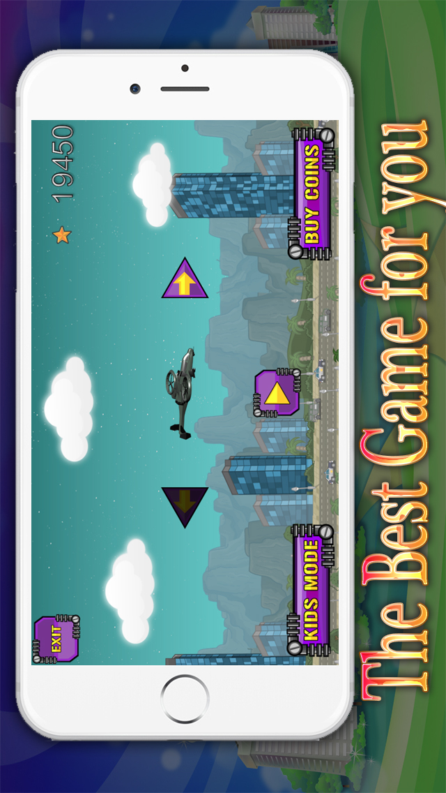 Super iFighter Heli Pilot Free – Fun Flying and Shooting Air Combat Game