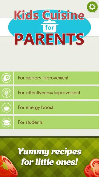 Kids Cuisine For Parents Prof
