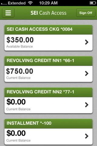 sei cash access SEI Cash Access | free iPhone app | App Decide