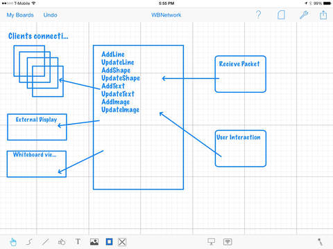 Whiteboard HD iPad Screenshot 3