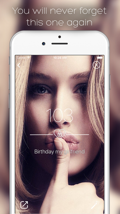 OneDay: Countdown To The Best Moments In Your Life With Photo Snaps And Memories Screenshots