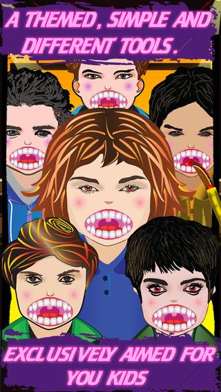 Baby Vampire-dentist office ultimate game for kids
