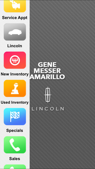 Gene Messer Lincoln Amarillo Dealer App