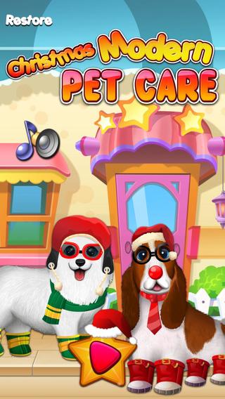 Christmas Morden Pet Care