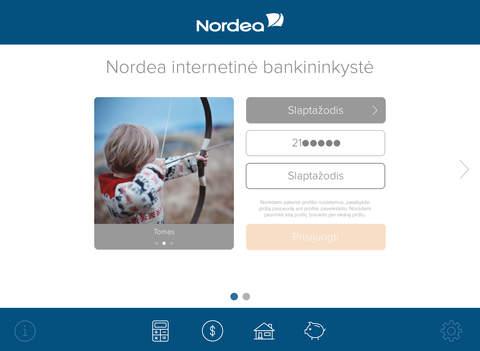 Nordea Lietuva for iPad