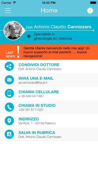 Dr. Antonio Claudio Cannizzaro • OB Doctor