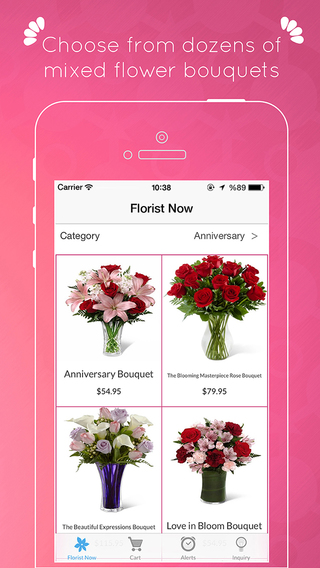 Florist Now - Send Flowers from Anywhere using Local Florists.