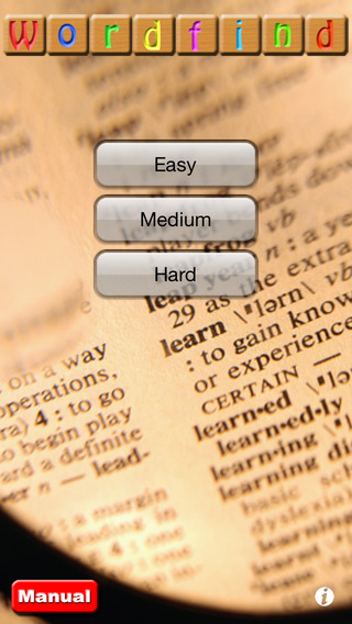 On-Core Wordfind iPhone Screenshot 4