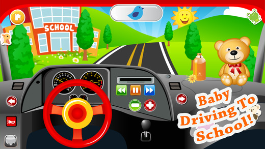 Baby School Bus - Fun Role Playing Game For Children With Toddler Songs