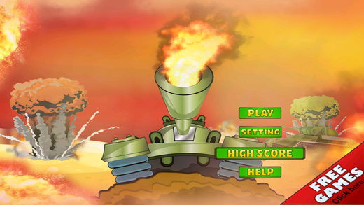 Boom Tank Race Total Domination Battle - Armor Force Missile Attack Pro
