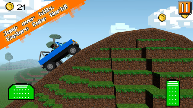 Cube Jeep: Hill Race 3D Full