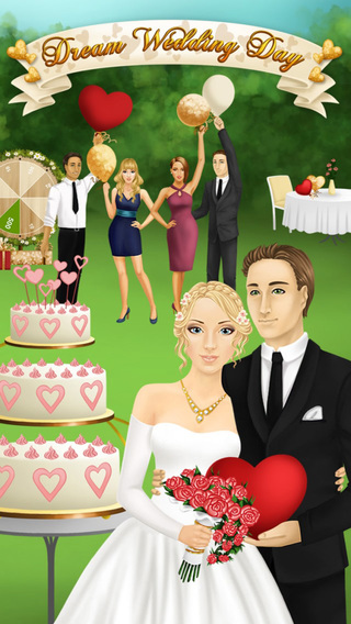 Dream Wedding Day - Bride Beauty Makeover Dress Up and Garden Party No Ads