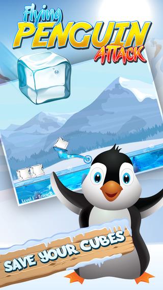 Flying Penguin Attack: Ice Knockdown Pro