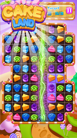 Cake Land:match 3 puzzle